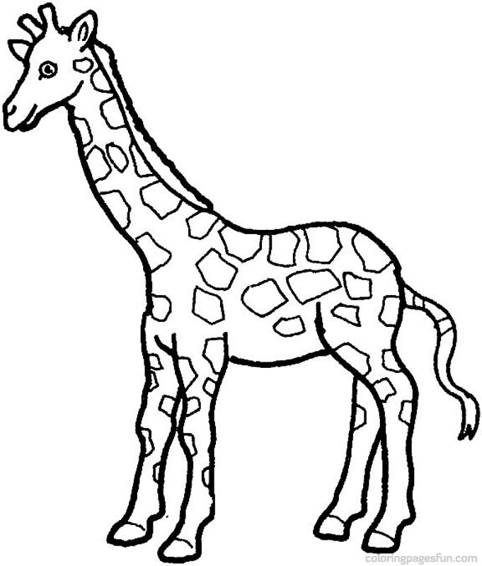 Funmozar Giraffe Coloring Pages 2015 | Tee Wallpapers