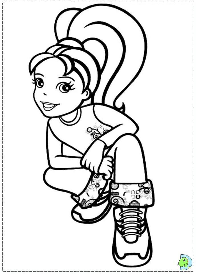 polliy Colouring Pages (page 2)