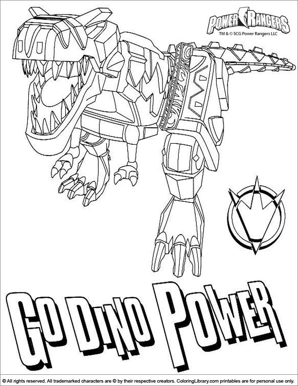 Groß Malvorlagen Power Rangers Dino Kostenlos Zeitgenössisch ...