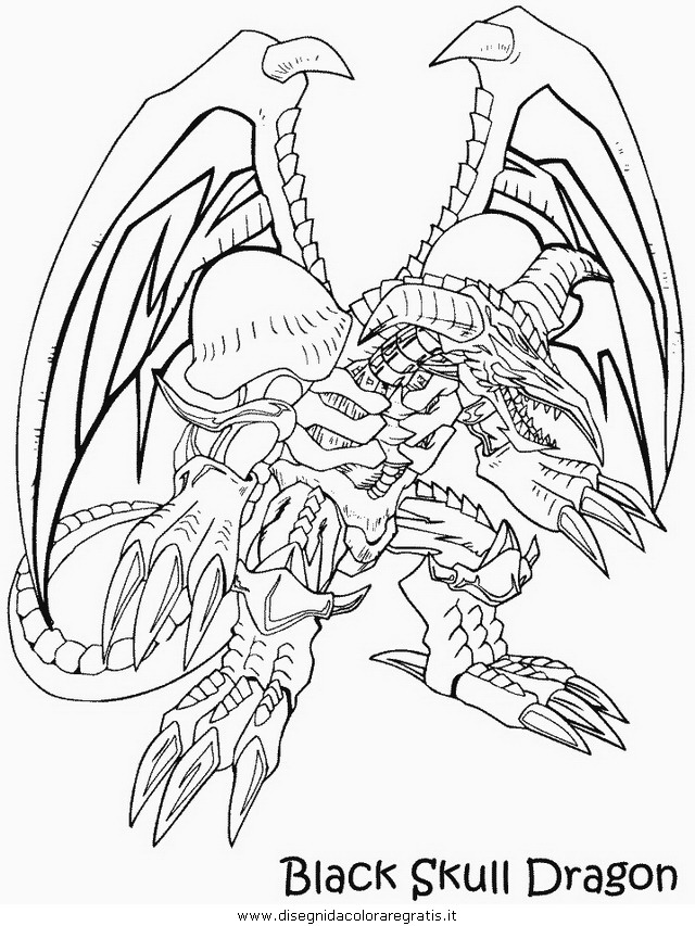 Yu-gi-ho 01 Colouring Pages