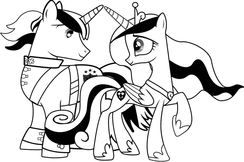 My Little Pony Friendship Is Magic Coloring Pages - Coloring For