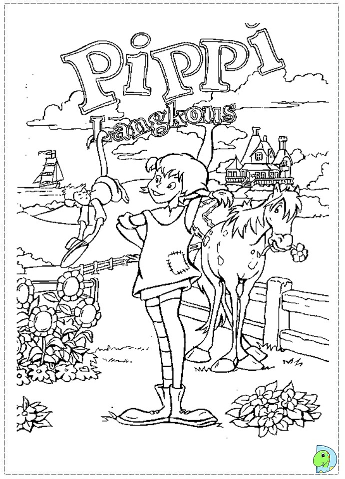 Pippi Langstrumpf Ausmalbilder Az Ausmalbilder