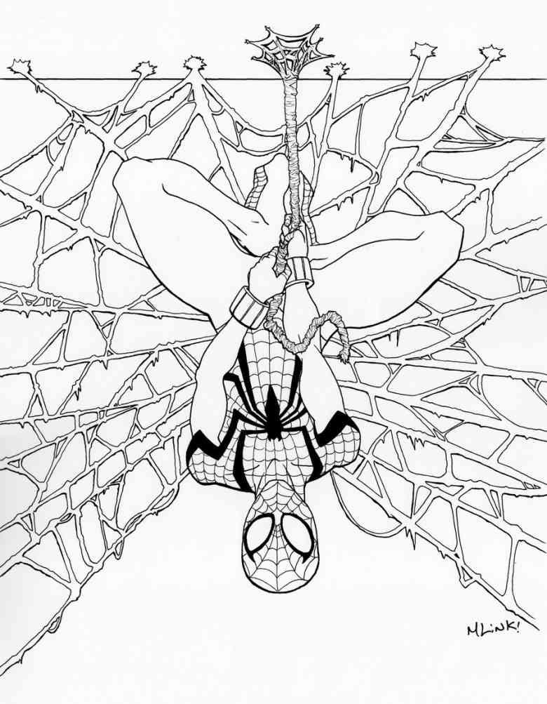 Spiderman Malvorlage Az Ausmalbilder