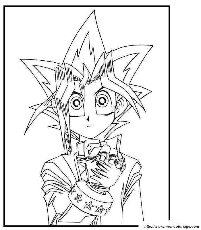 yugioh cards Colouring Pages