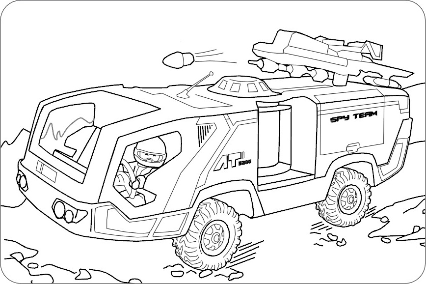 AUSMALBILDER POLIZEI | Coloringpages321.