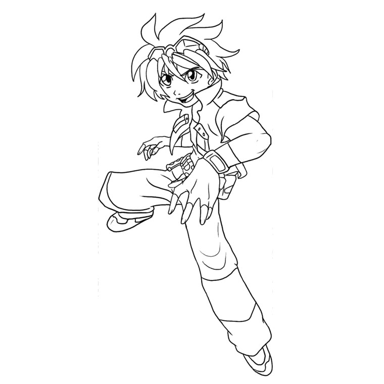 o d coloriage bakugan Colouring Pages
