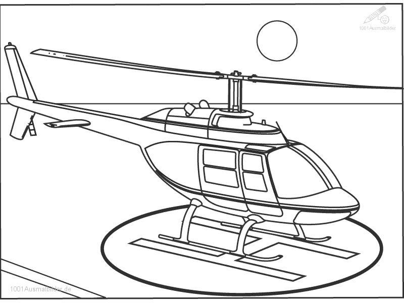 Hubschrauber Bilder Az Ausmalbilder