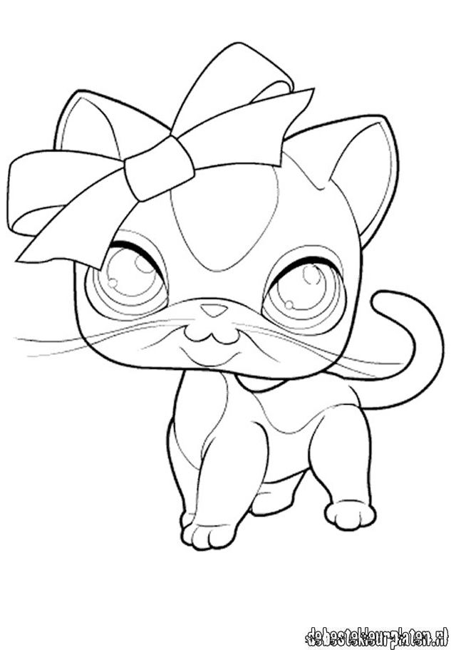 Pet Shop Coloring Pages To Print