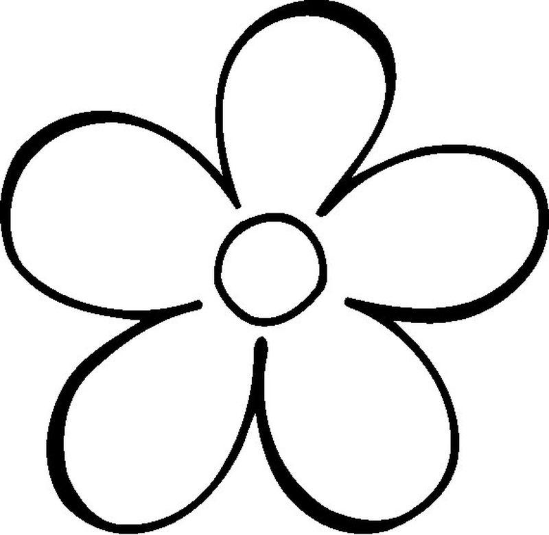 Atemberaubend Einfache Malvorlagen Von Blumen Fotos ...