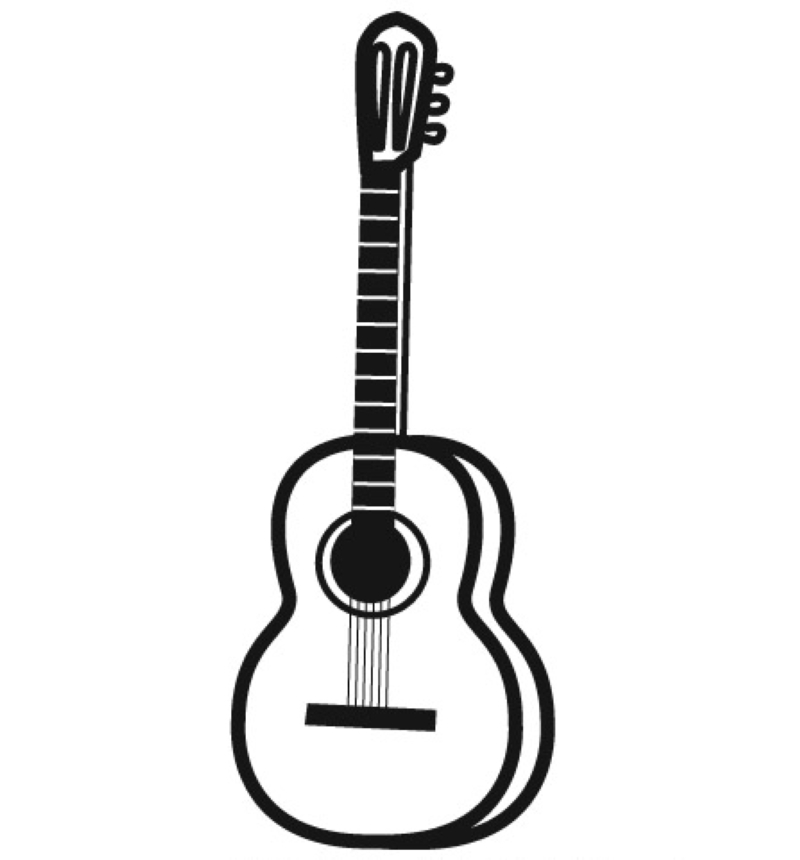 Malvorlagen Musikinstrumente Az Ausmalbilder