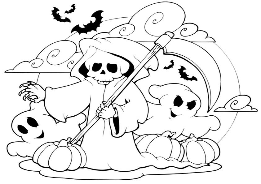 Gemütlich Halloween Malvorlagen Für Kinder Im Vorschulalter Galerie ...