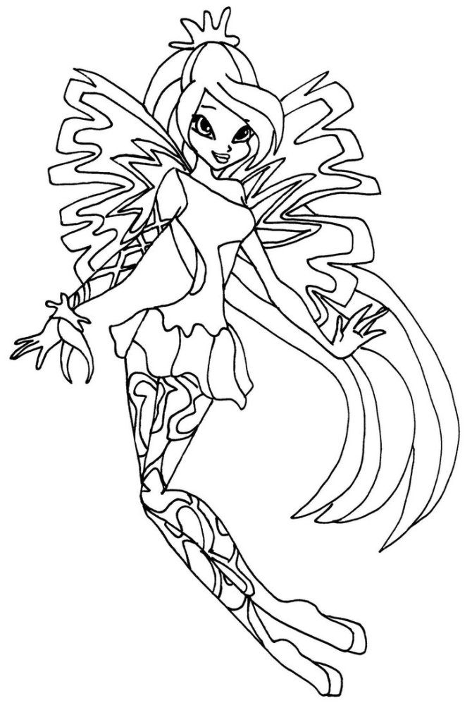 enchantix-9 Colouring Pages