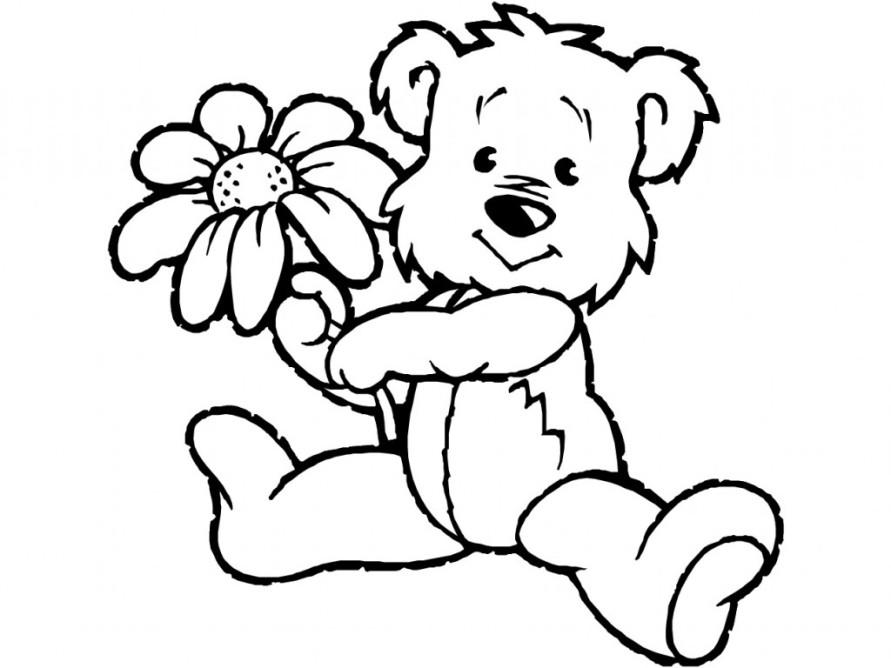 Malvorlagen Teddybär Az Ausmalbilder