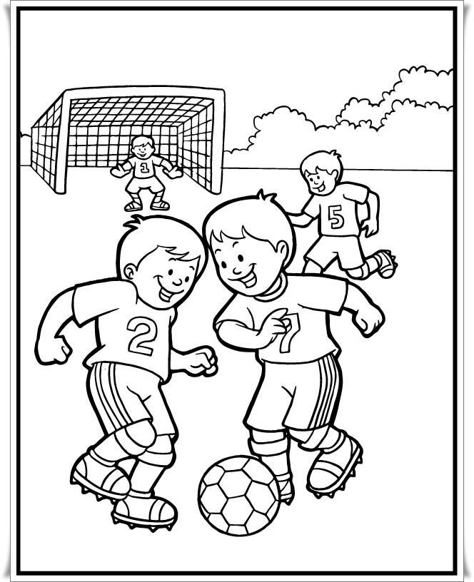 Malvorlage Fussball Kostenlos Az Ausmalbilder