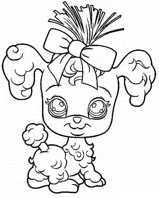 Little Pet Shop Coloring Pages 19 - Free Printable Coloring Pages