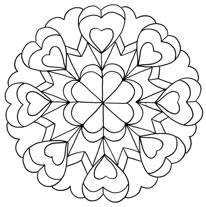 Blumen Mandala Tattoos