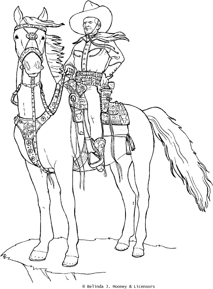 Davy Crockett Coloring Pages