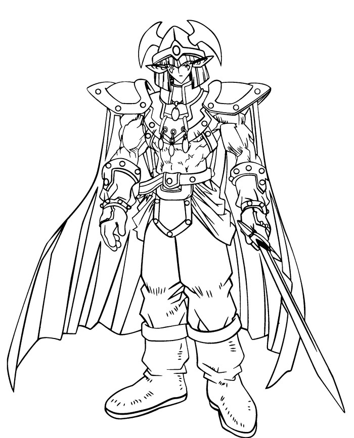Monster Malvorlagen Coloring Pages - Yu Gi Oh Coloring Pages - AZ ...