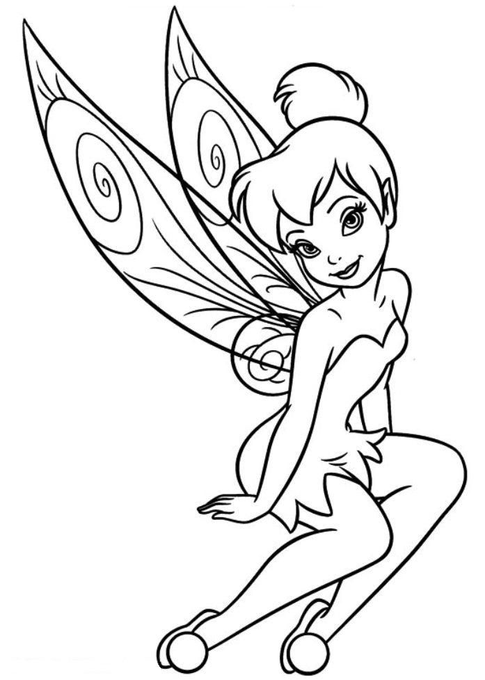 Tinkerbell ausmalbilder Colouring Pages (page 2)