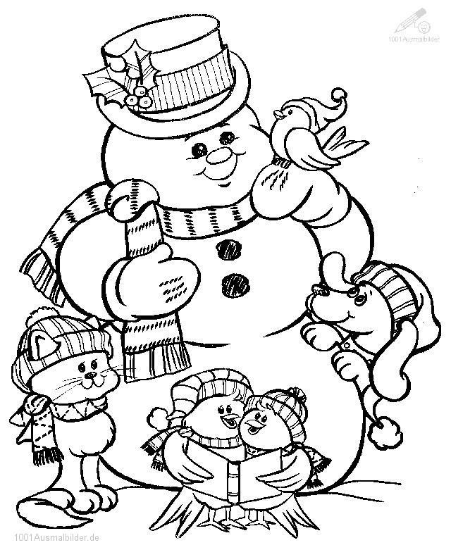 Nikolaus Und Weihnachtsmann Az Ausmalbilder
