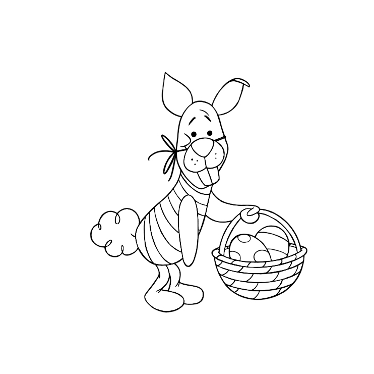 Free printable Easter coloring pages: Disney | DearCrissy.