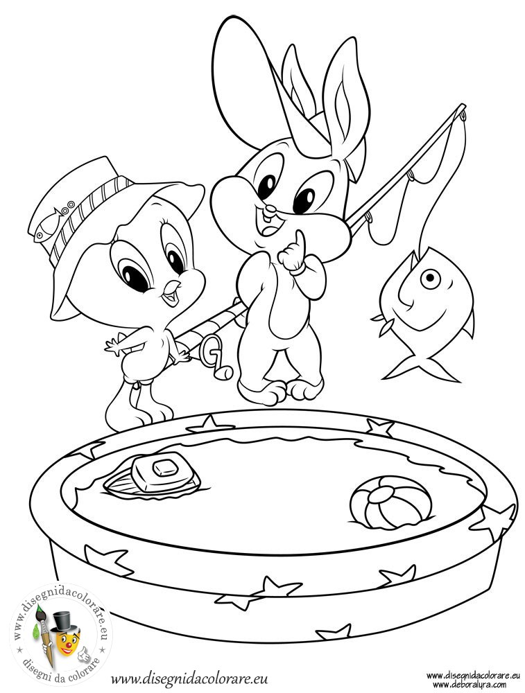 c baby looney tunes Colouring Pages