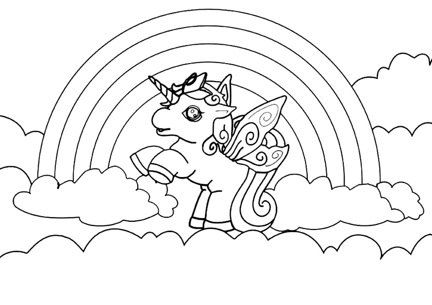 FILLY PRINCESS Colouring Pages (page 2)