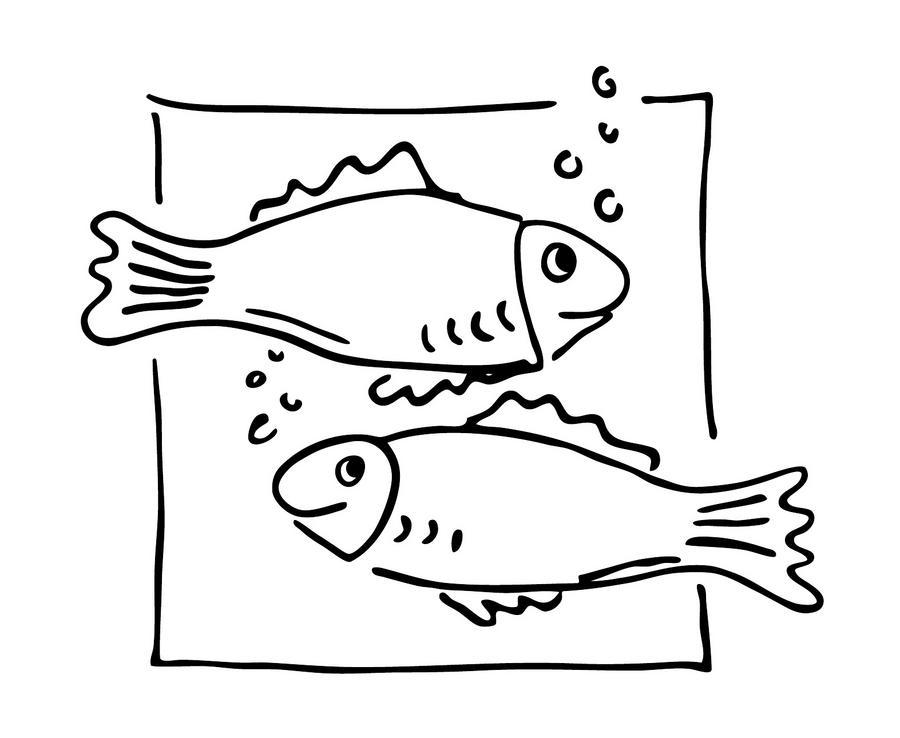 Berühmt Große Fische Malvorlagen Fotos - Framing Malvorlagen ...