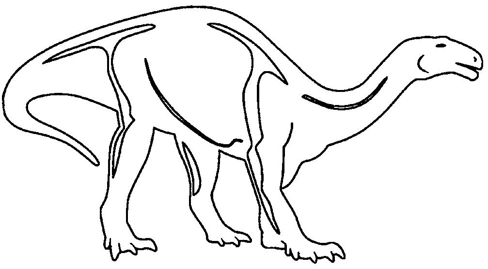 Dinosaurier Vorlagen Az Ausmalbilder