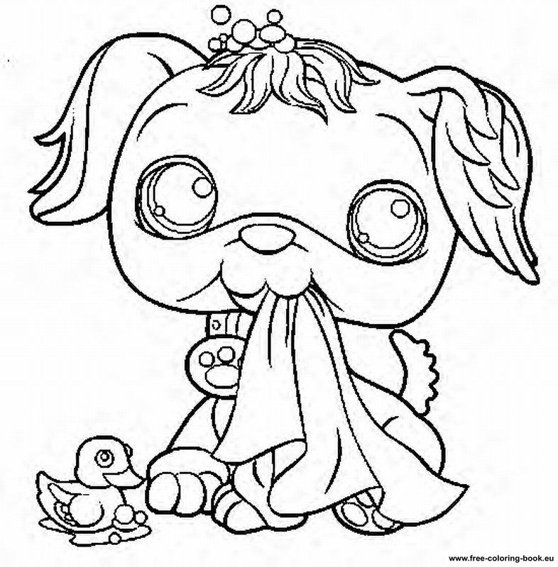 Coloring pages Littlest Pet Shop - Page 2 - Printable Coloring
