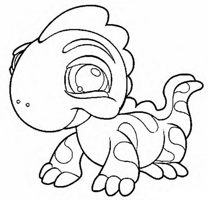 Little Pet Shop Coloring Pages 31 - Free Printable Coloring Pages