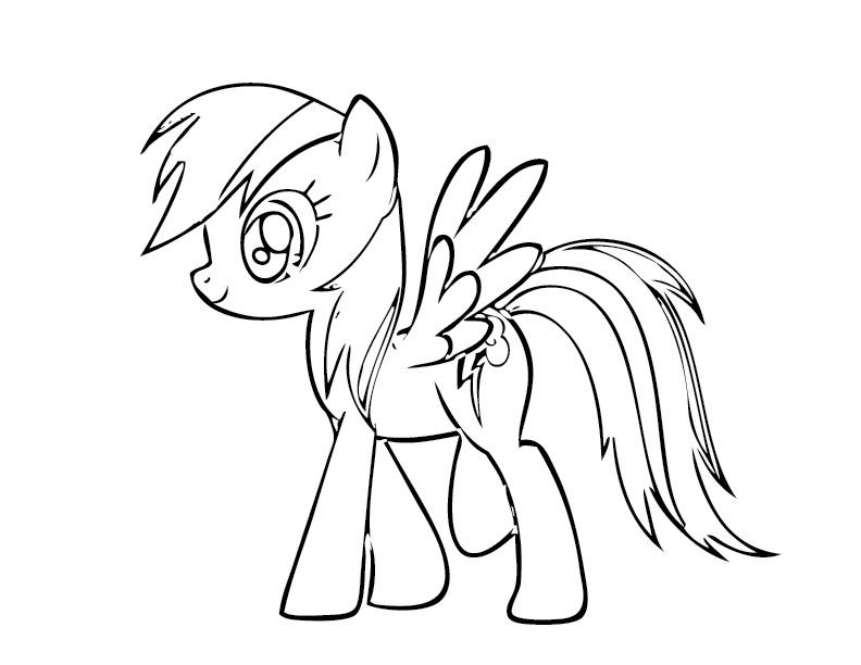 My Little Pony Coloring Pages To Print - Coloring For KidsColoring