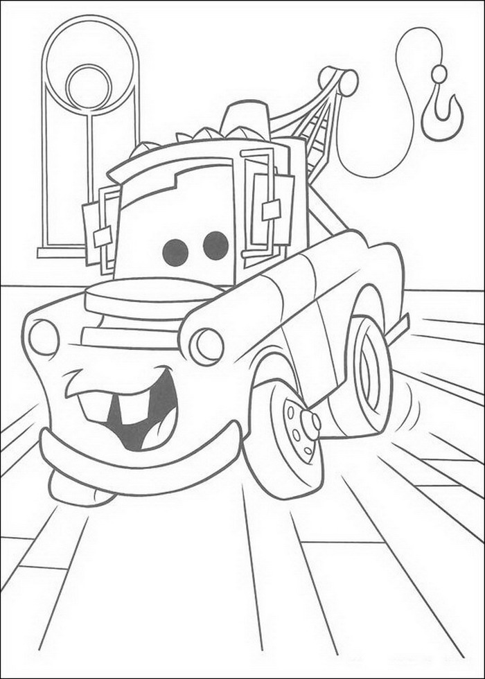 hook monstertruck Colouring Pages
