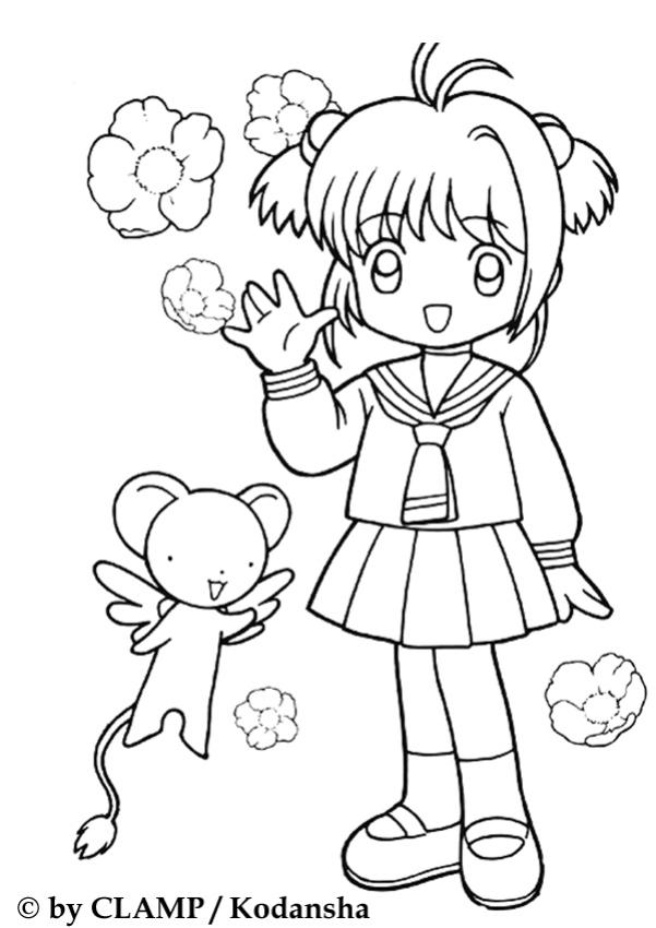 Manga Mädchen Bilder Az Ausmalbilder