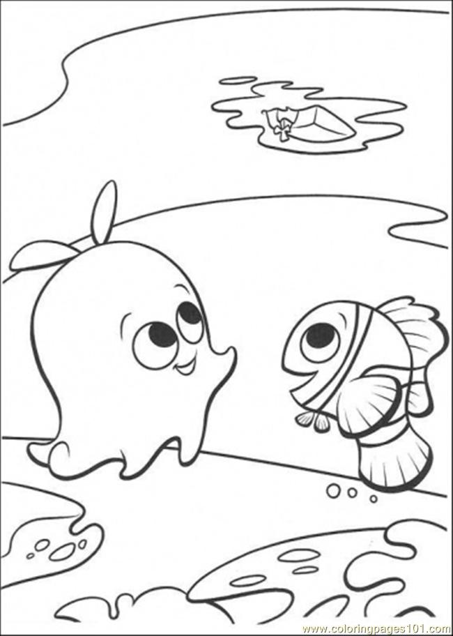 pearl in nemo Colouring Pages