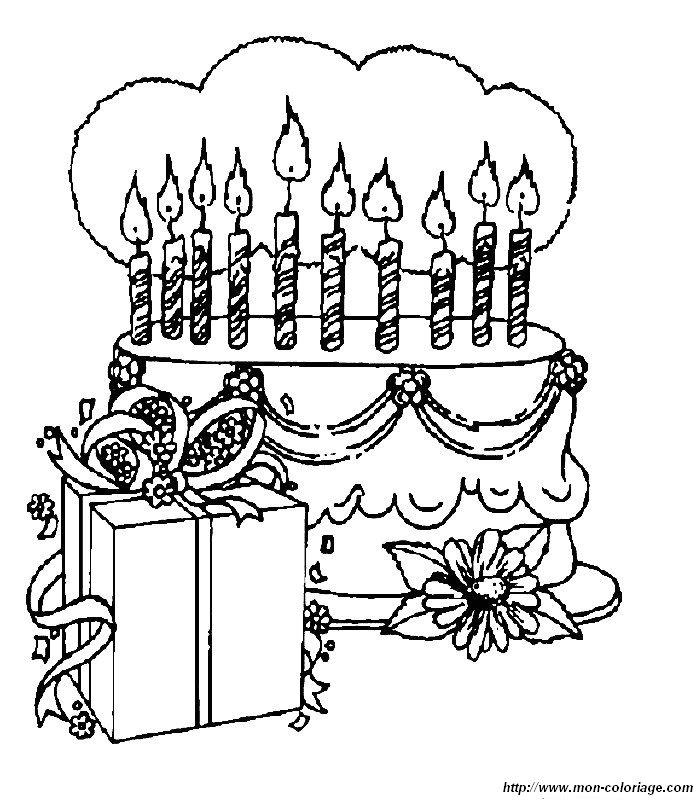 Ausmalbild Geburtstag Az Ausmalbilder