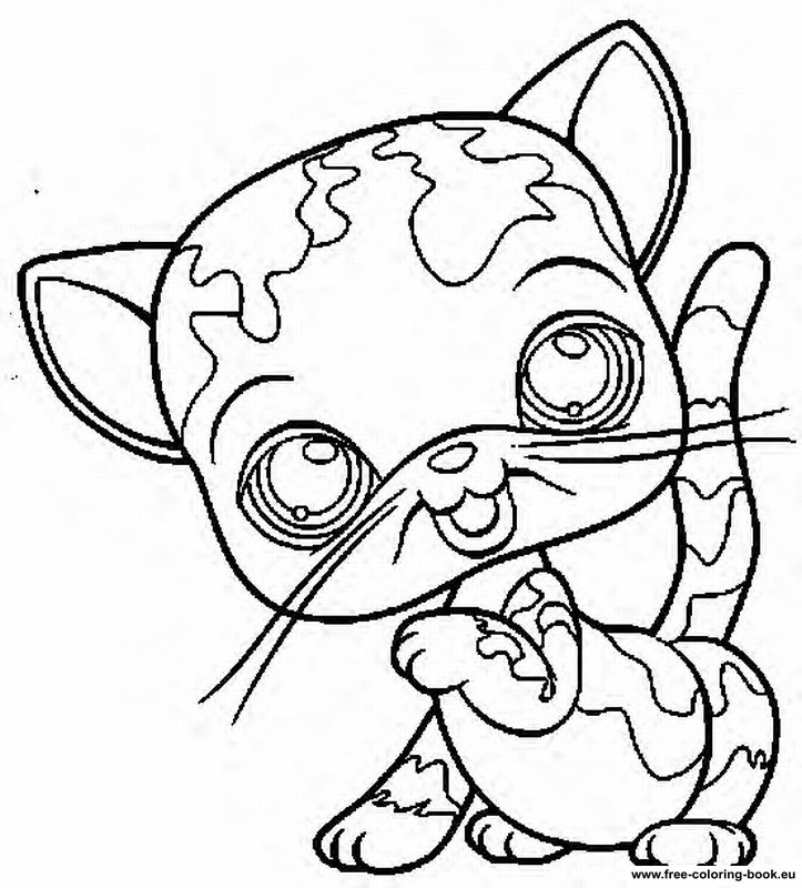 My little pet shop Colouring Pages (page 2)