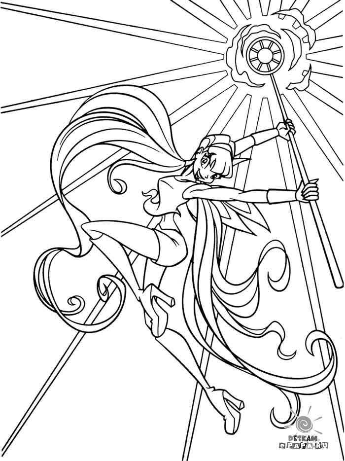 winx cy fer Colouring Pages