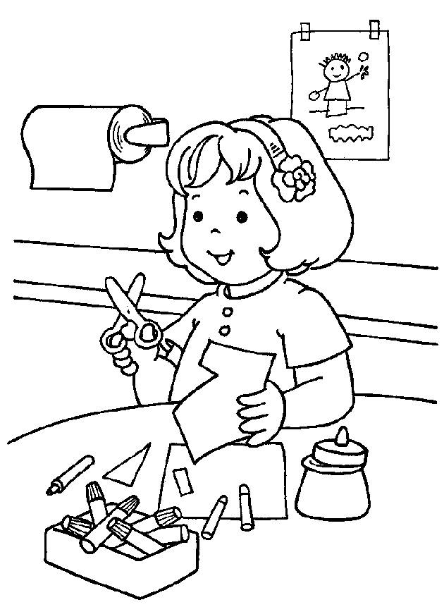 Kindergarten Coloring Pages | ColoringMates.