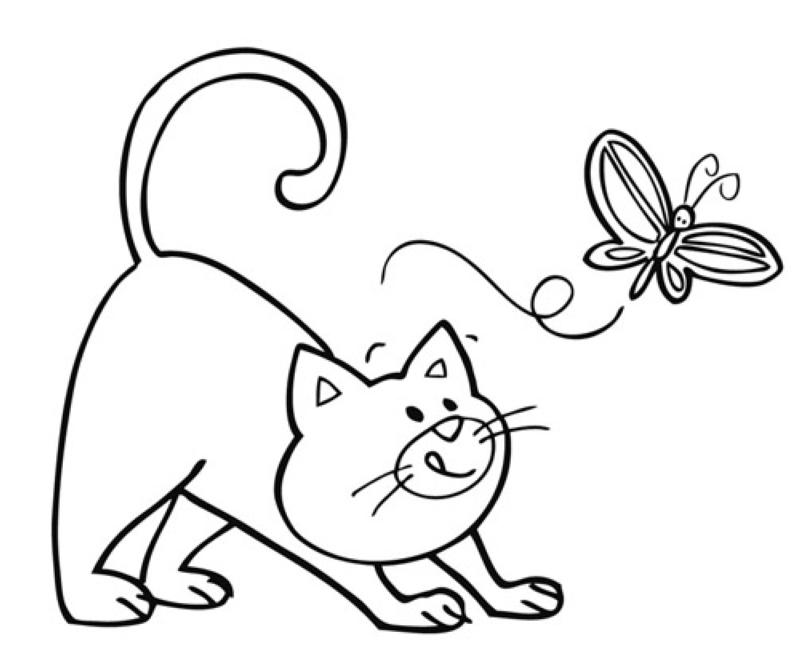 Kostenlose Bilder Katzen Az Ausmalbilder