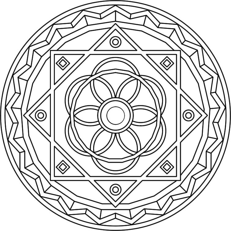 Mandala Bilder - AZ Ausmalbilder