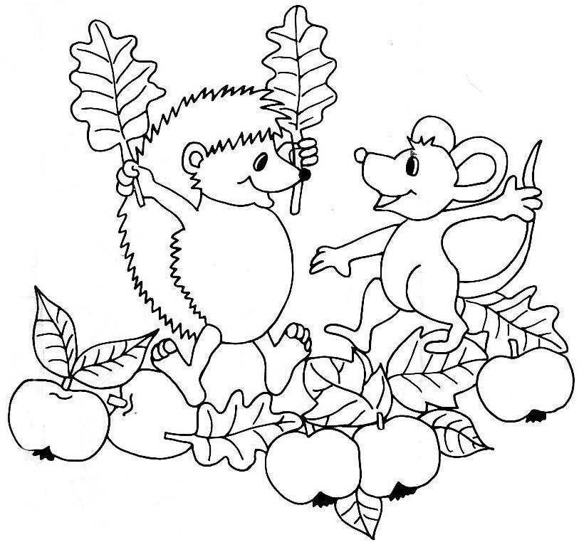 Herbst Ausmalbilder Az Ausmalbilder