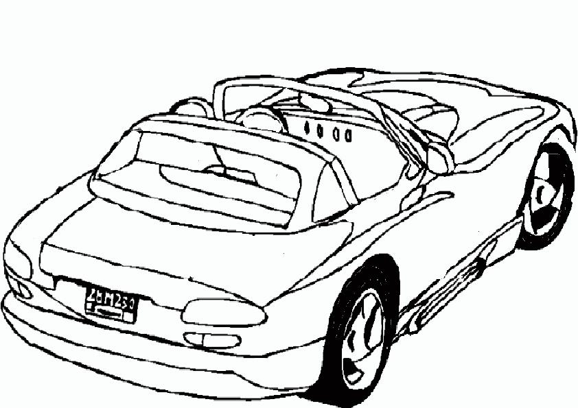 Auto Ausmalbilder - AZ Ausmalbilder