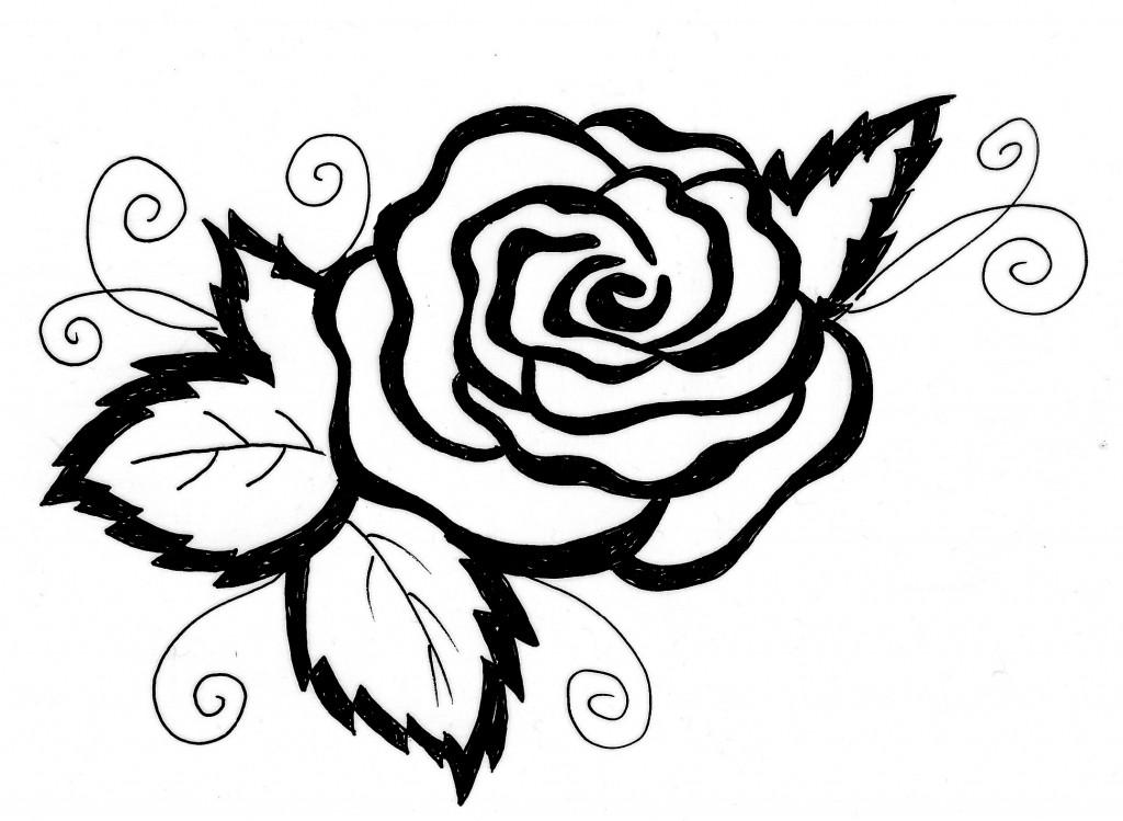 Blumen Rose Az Ausmalbilder