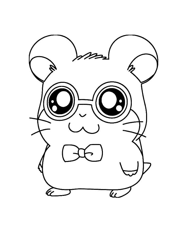 Little Pet Shop Hamster Haustier Malvorlage - AZ Ausmalbilder
