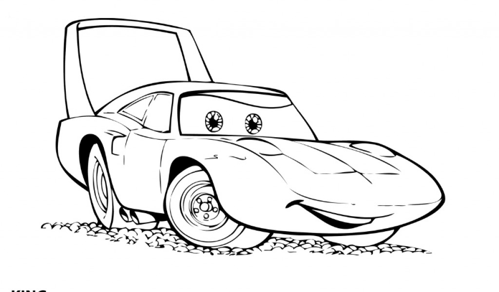McQueen Lightning Cars Coloring Pages for kids | Free Coloring Pages