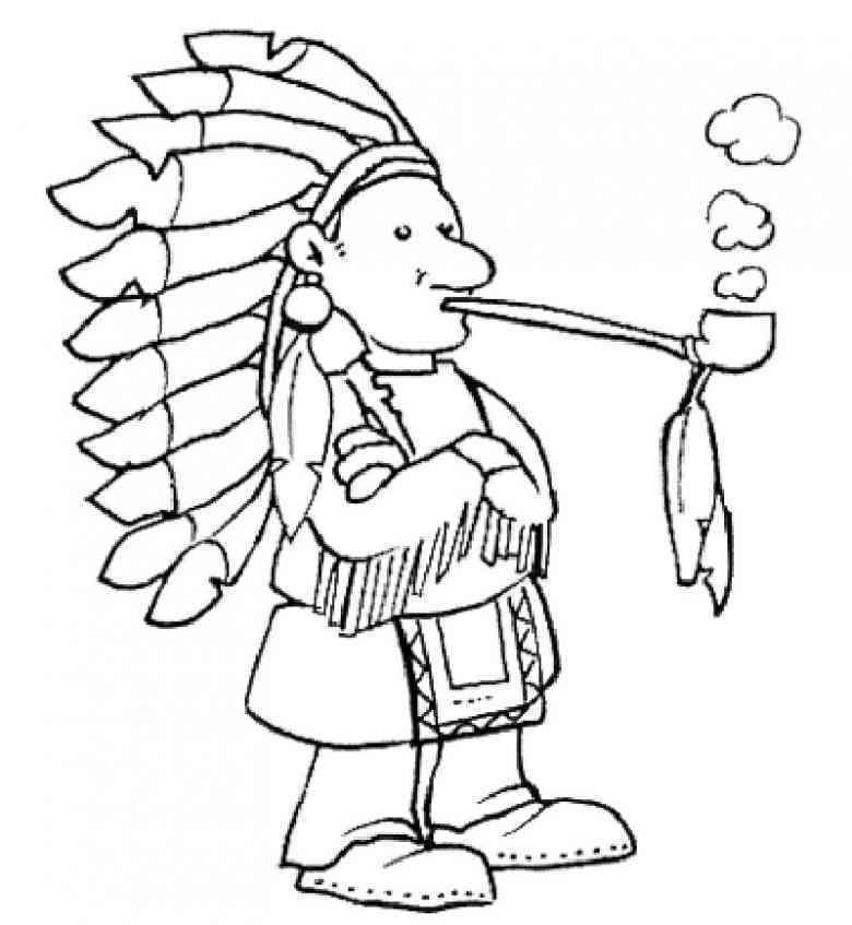 Indianer Ausmalbild Az Ausmalbilder