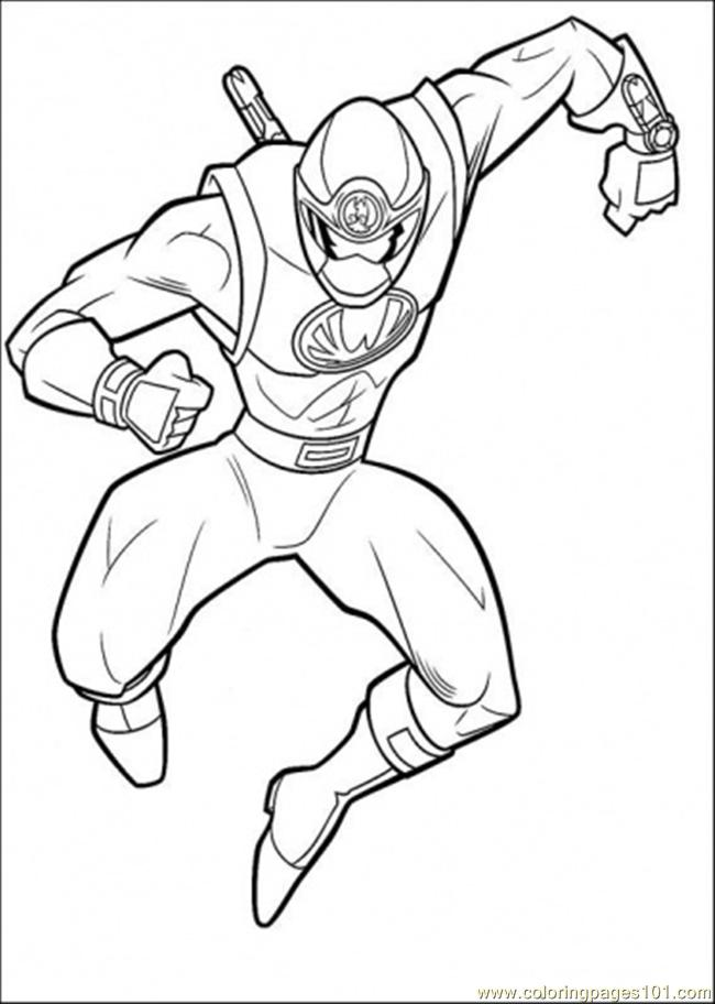 Emily power rangers Colouring Pages
