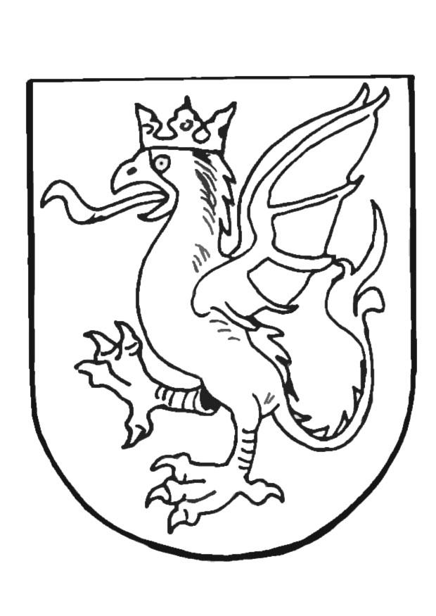 Wappen Zum Ausmalen - AZ Ausmalbilder