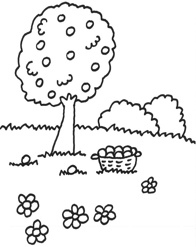 Malvorlage Baum Ohne Blätter Az Ausmalbilder